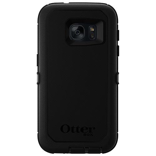 Étui rigide ajusté d'OtterBox pour Galaxy S7 de Samsung - Noir
