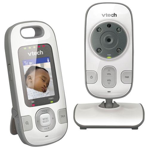 Interphone de surveillance audio-vidéo pour bébé Safe&Sound 2 po VTech à vision nocturne IR (VM312)