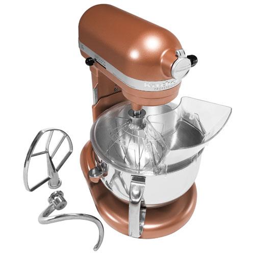 Kitchenaid Professional 600 Lift Bowl Stand Mixer 6qt 575 Watt Copper Pearl Stand Mixers