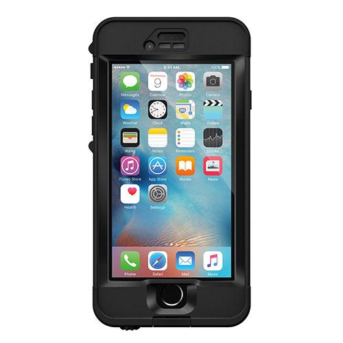 Étui rigide ajusté nüüd de LifeProof pour iPhone 6s - Noir