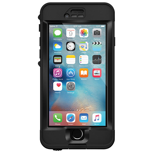 LifeProof nüüd Apple 6s Plus Fitted Hard Shell Case - Black