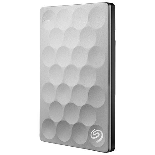 Disque dur externe portatif USB 3.0 de 2,5 po/1 To Backup Plus Ultra Slim de Seagate (STEH1000100)