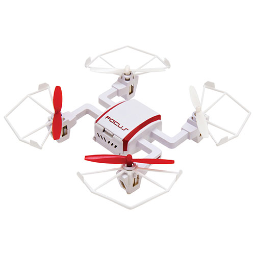 Litehawk Focus Quadcopter Drone With Camera Ready To Fly Red