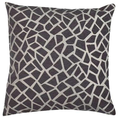 Giraffe Decorative Cushion - Grey