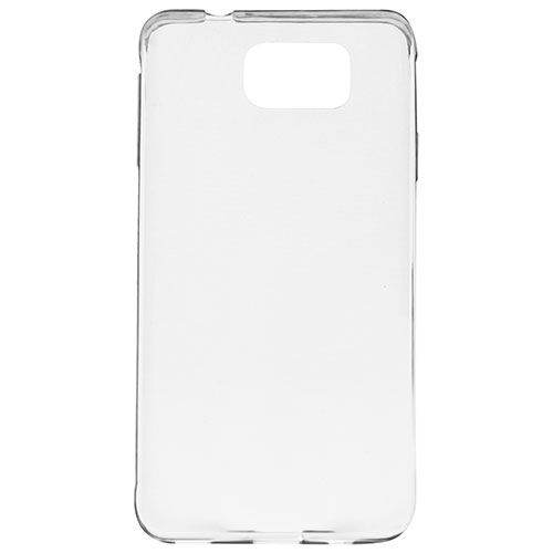 Affinity Samsung Galaxy S7 Edge Fitted Soft Shell Case - Clear