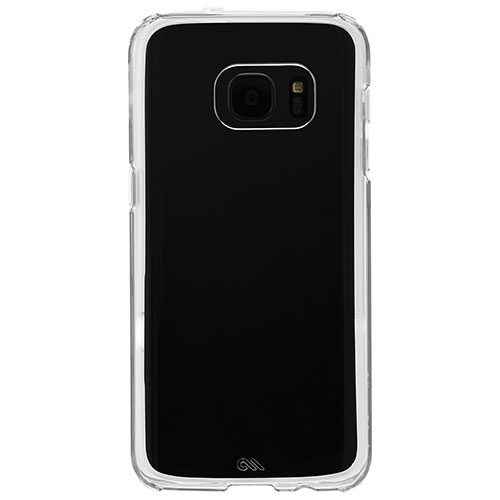 Case-Mate Naked Tough Samsung Galaxy S7 Edge Fitted Soft Shell Case - Clear