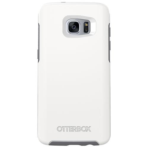 Étui rigide ajusté d'OtterBox pour Galaxy S7 Edge de Samsung - Blanc