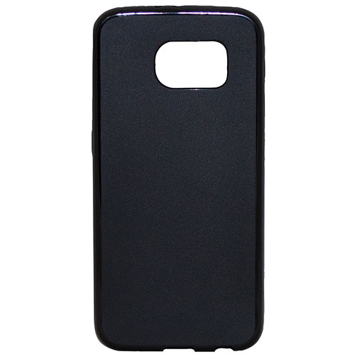Affinity Samsung Galaxy S7 Edge Fitted Soft Shell Case - Black