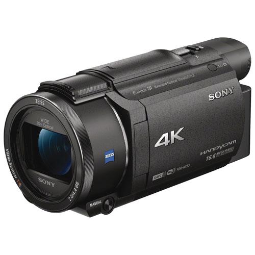 Caméscope 4K à mémoire flash Handycam AX53 de Sony
