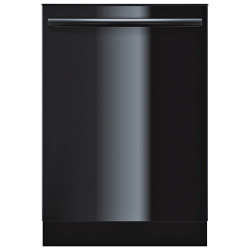 "Bosch Ascenta 24"" 50 dB Dishwasher with Stainless Steel Tub (SHX3AR76UC) - Black"