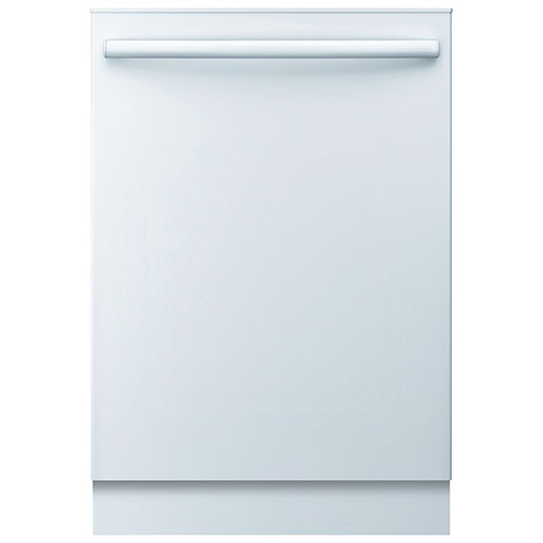 """Bosch Ascenta 24"""" 50 dB Dishwasher with Stainless Steel Tub (SHX3AR72UC) - White"""