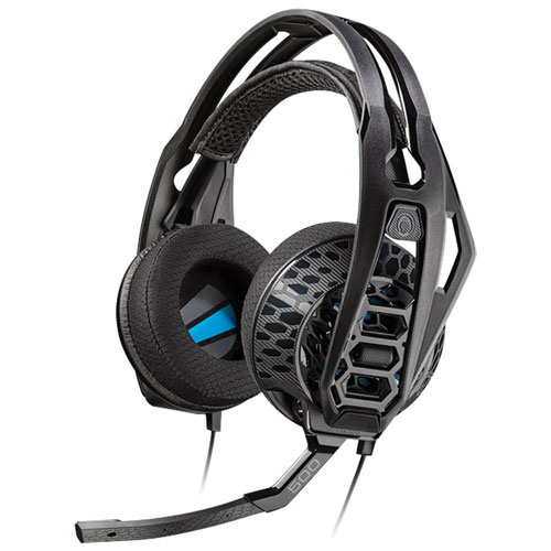 Plantronics RIG 500E Gaming Headset - Black