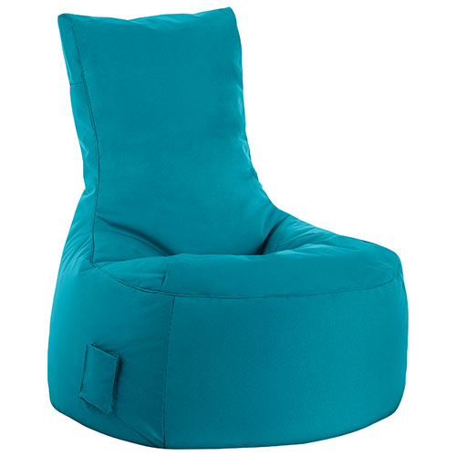Swing Contemporary Bean Bag Chair - Turquoise