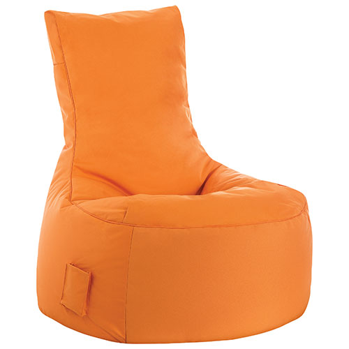 Swing Contemporary Bean Bag Chair - Orange