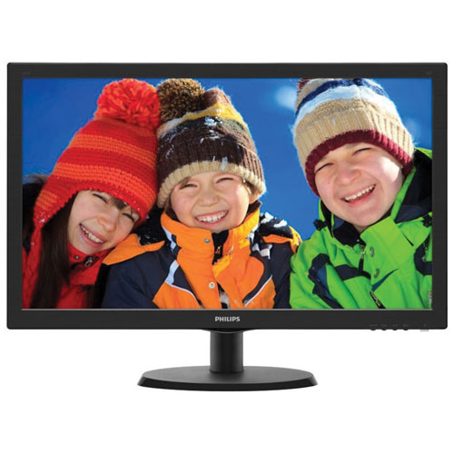 "Philips 21.5"" FHD 5ms GTG LED Monitor (223V5LSB/27) - Black"