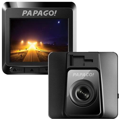 PAPAGO GoSafe 388 Full HD 1080p Mini Dashcam (GS3888G) - Black