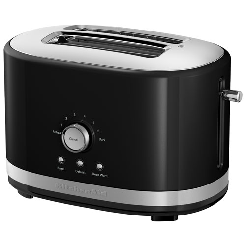 Black Kitchenaid Toaster: Onyx Black : Toasters