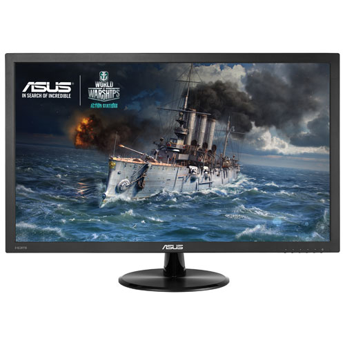 "ASUS 21.5"" FHD 1ms GTG TN LED Gaming Monitor (VP228H) - Black"
