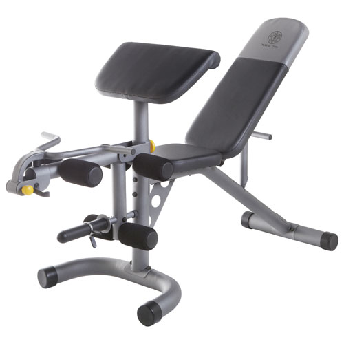 Gold S Gym Xrs 20 Olympic Bench Weight Benches Amp Free
