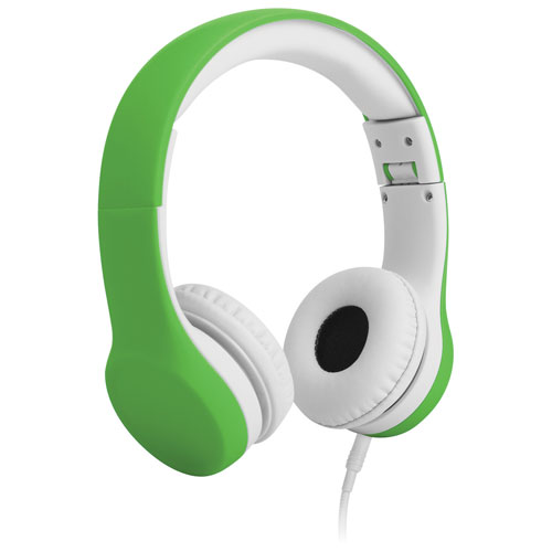 LilGadgets Connect+ On-Ear Sound Isolating Headphones (LGCP-06) - Green