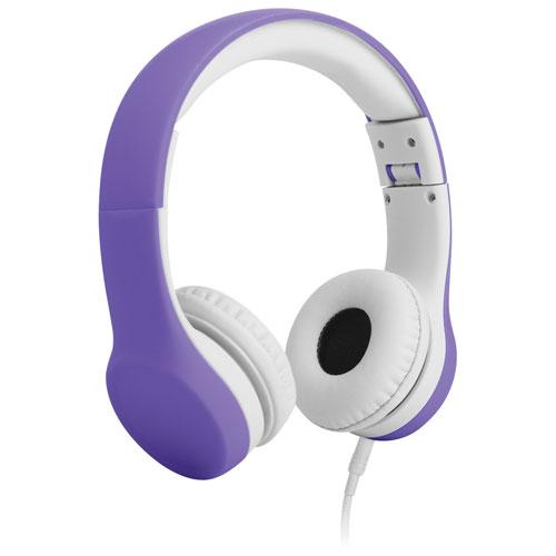 LilGadgets Connect+ On-Ear Headphones (LGCP-05) - Purple