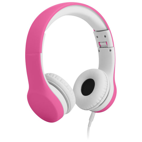 LilGadgets Connect+ On-Ear Headphones (LGCP-04) - Pink