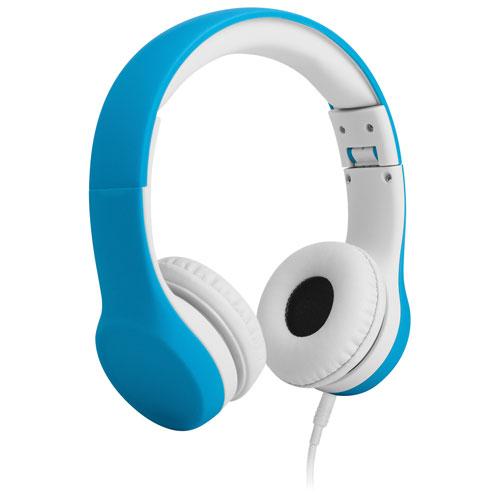 Casque d'écoute Connect+ de LilGadgets (LGCP-03) - Bleu