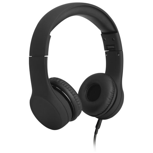 LilGadgets Connect+ On-Ear Headphones (LGCP-02) - Black