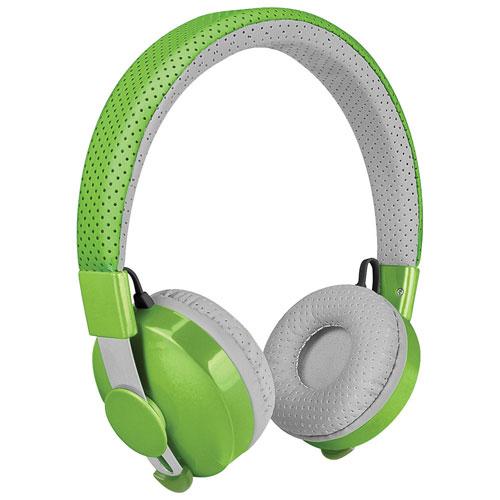 Casque d'écoute sans fil pour enfants Untangled Pro de LilGadgets - Vert