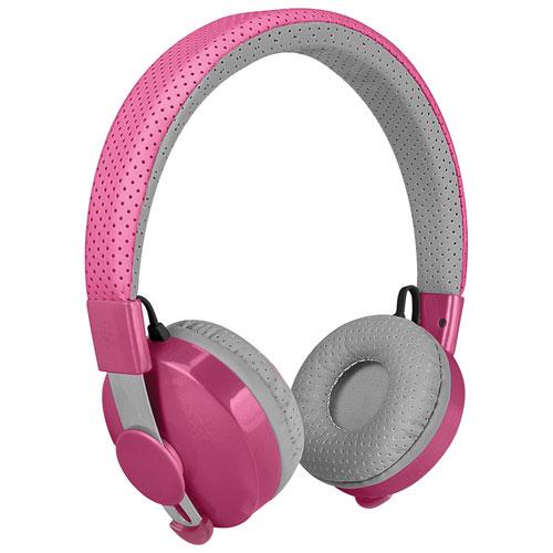 Casque d'écoute sans fil pour enfants Untangled Pro de LilGadgets - Rose