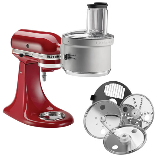 Captivating KitchenAid Food Processor Attachment : Stand Mixer Attachments   Best Buy  Canada