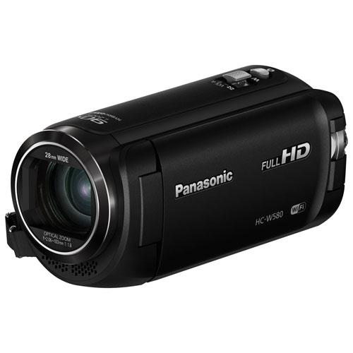 Caméscope HD à mémoire flash HC-W580K de Panasonic