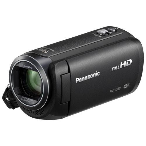 Caméscope HD à mémoire flash HC-V380K de Panasonic