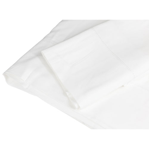 The St. Pierre Home 350 Thread Count Micromodal Duvet Cover - King - White