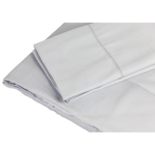The St. Pierre Home 4-Piece 350 Thread Count Micromodal Bed Sheet Set - Queen - Grey