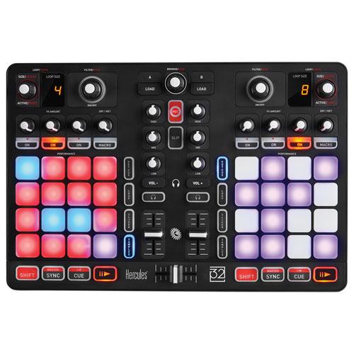Hercules P32 4-Channel All-in-One DJ Controller (P32DJC)
