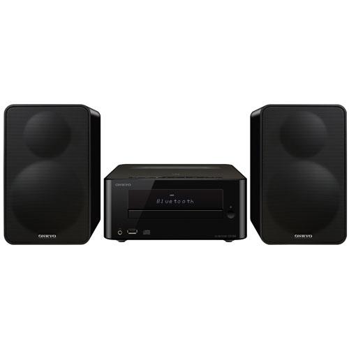 Système haute-fidélité miniature CD avec Bluetooth CS-265 d'Onkyo - Noir