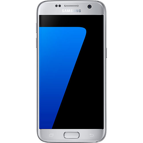 Téléphone intelligent Galaxy S7 de 32 Go de Samsung par TELUS - Argent titane - Entente de 2 ans