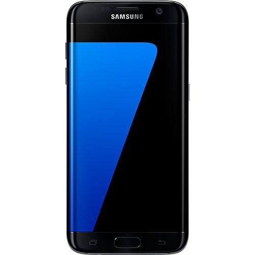 Téléphone intelligent Galaxy S7 Edge 32 Go de Samsung offert par TELUS -Noir onyx- Entente de 2 ans