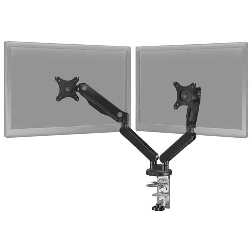 Support à deux bras entièrement articulables pour moniteur d'Insignia - Noir