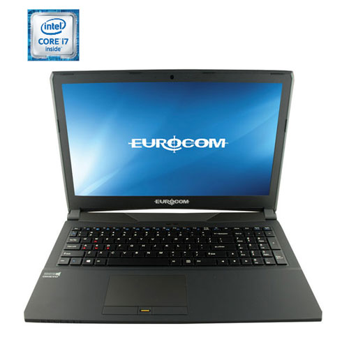 Portable jeu Shark 5 15,6 po EUROCOM - Noir (Core i7-6700HQ Intel/DD 1000 Go/RAM 8 Go/Win 10) - Ang