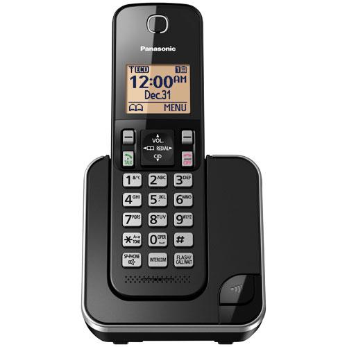 Panasonic 1-Handset DECT Cordless Phone (KXTGC380B)