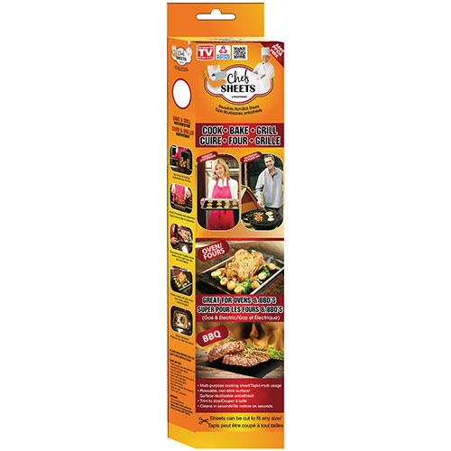 As Seen On TV Chef Sheets Cooking Sheets