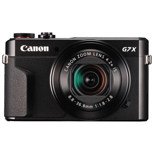 PowerShot G7 X Mark II Wi-Fi 20.1MP 4.2x Optical Zoom Digital Camera - Black