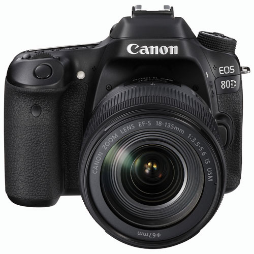 Canon EOS 80D DSLR Camera with 18-135mm IS USM Lens Kit
