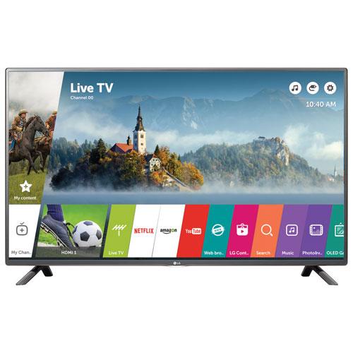 Téléviseur intelligent webOS 3.0 DEL HDR UHD 4K de 49 po de LG (49UH6100)