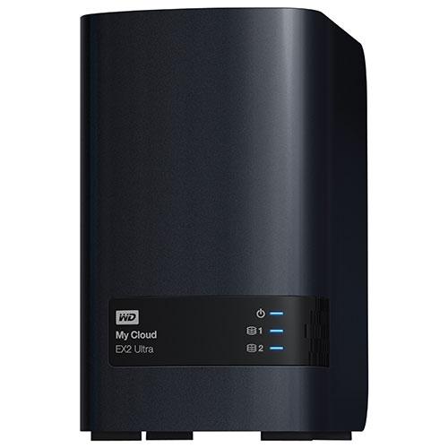 Dispositif de stockage en réseau My Cloud EX2 Ultra de 12 To de WD (WDBVBZ0120JCH-NESN)