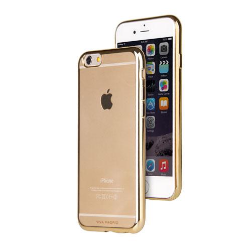 Étui souple Metalico de Viva Madrid pour iPhone 6/6s - Champagne doré
