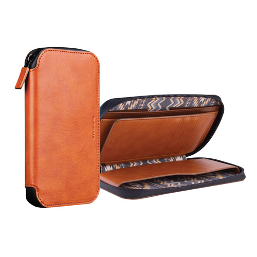 Viva Madrid Robusto iPhone 6/6s Plus Leather Holster Case - Brown