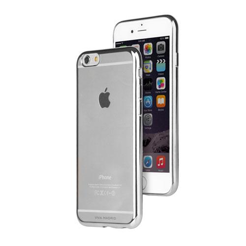 Étui souple Metalico de Viva Madrid pour iPhone 6/6s Plus - Argenté